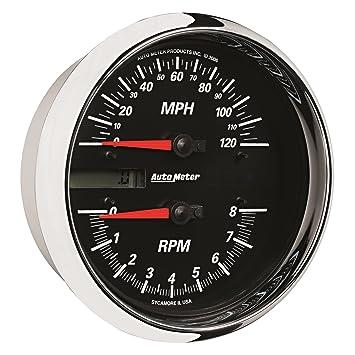 nieuwe aankomst stabiele kwaliteit stopcontact online Auto Meter AutoMeter 19466 Gauge, Tach/Speedo, 4 1/2