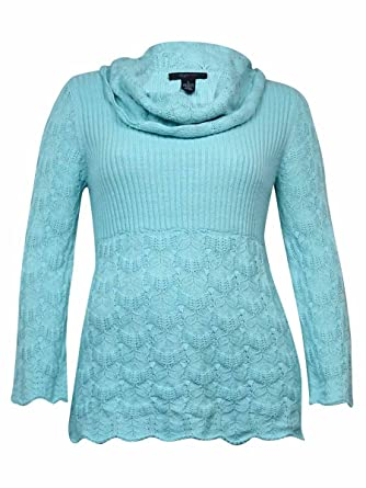 395f361dd01 Style   Co. Women s Babydoll Long Sleeve Sweater at Amazon Women s ...