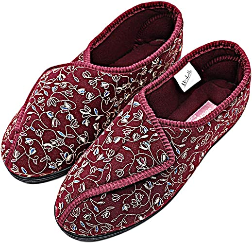 Women Ladies Navy Orthopaedic Diabetic lightweight shoes Memory Foam Shock Size