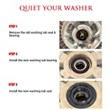 Front Load Washer Tub Bearings and Seal Kit For