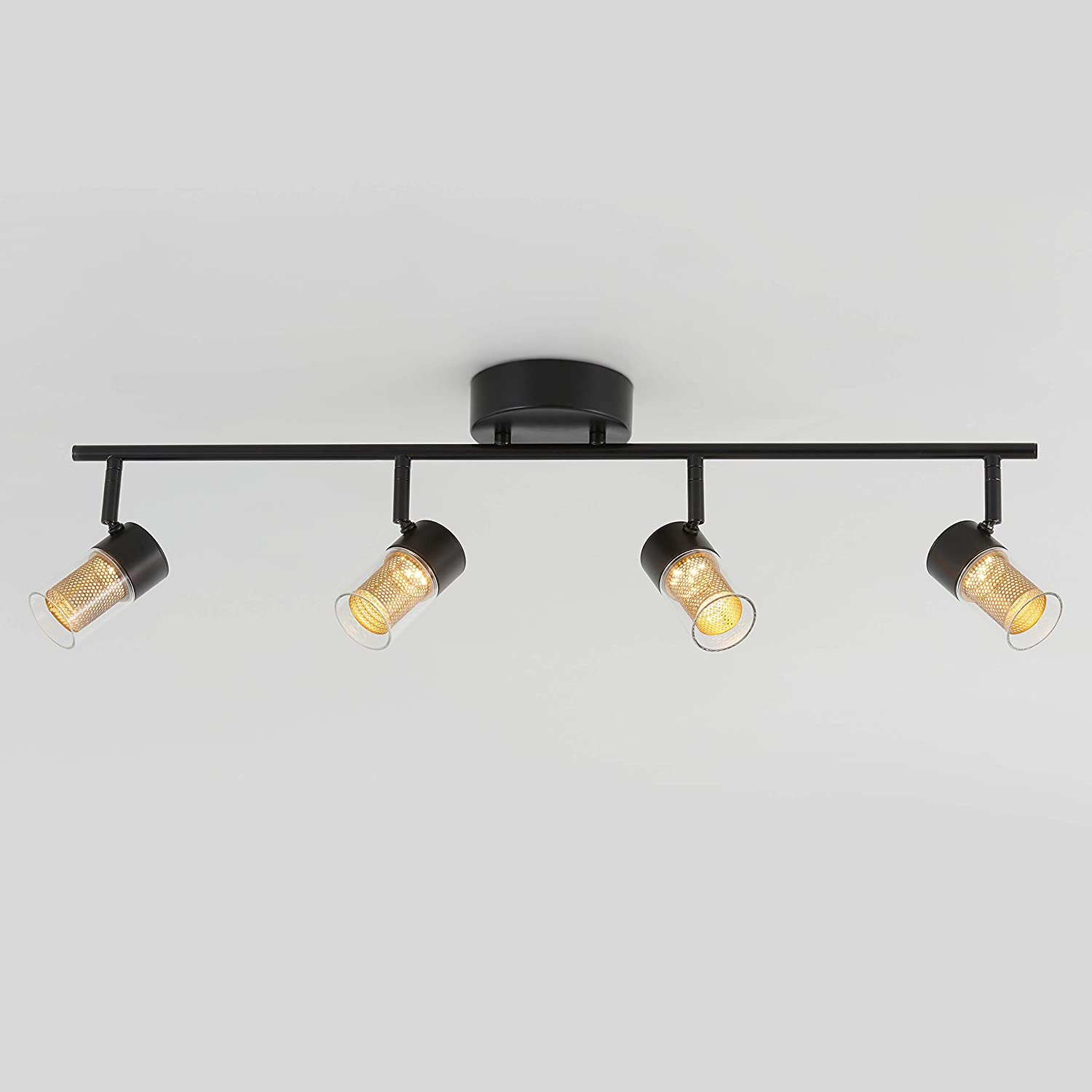 Amazon.com: Artika TRK4OX-B-RN Oxion Track 4 Light Fixture ...