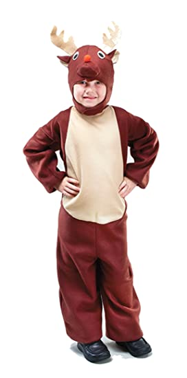 disfraz infantil de reno aos