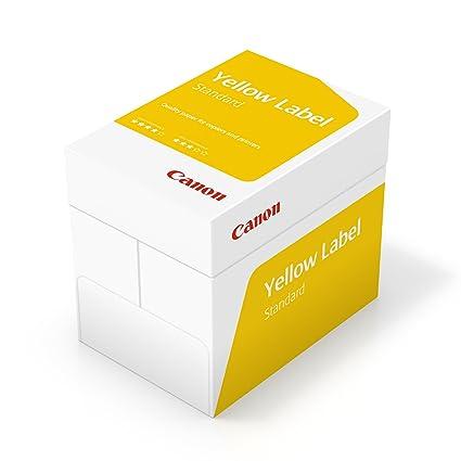 Canon Alemania Yellow Label estándar Papel multifunción, 5 x ...