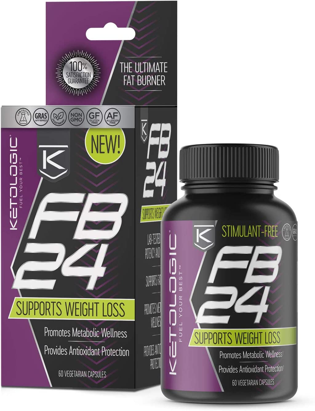 KetoLogic FB24 Fat Burner Supplement