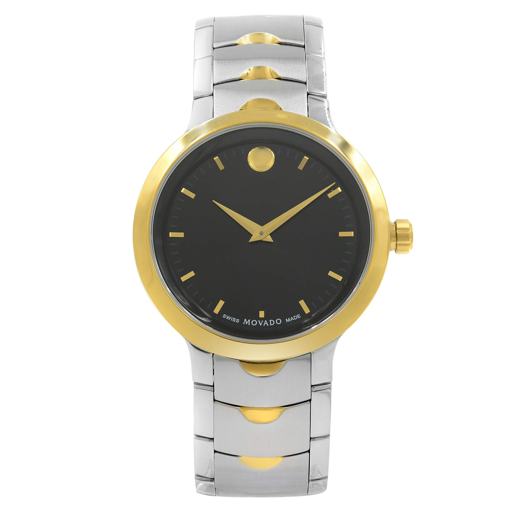Movado Luno Quartz Male Watch 0607043 (Certified Pre-Owned) by Movado