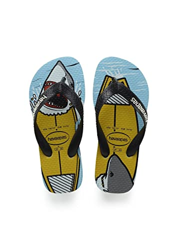 270a438e19ff22 Image Unavailable. Image not available for. Color  Havaianas Boys Top Play Flip  Flops ...