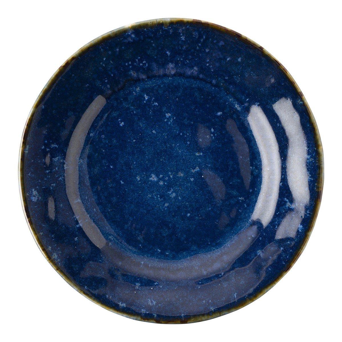 Juliska Puro Dappled Cobalt Dessert/Salad Plate PartialUpdate