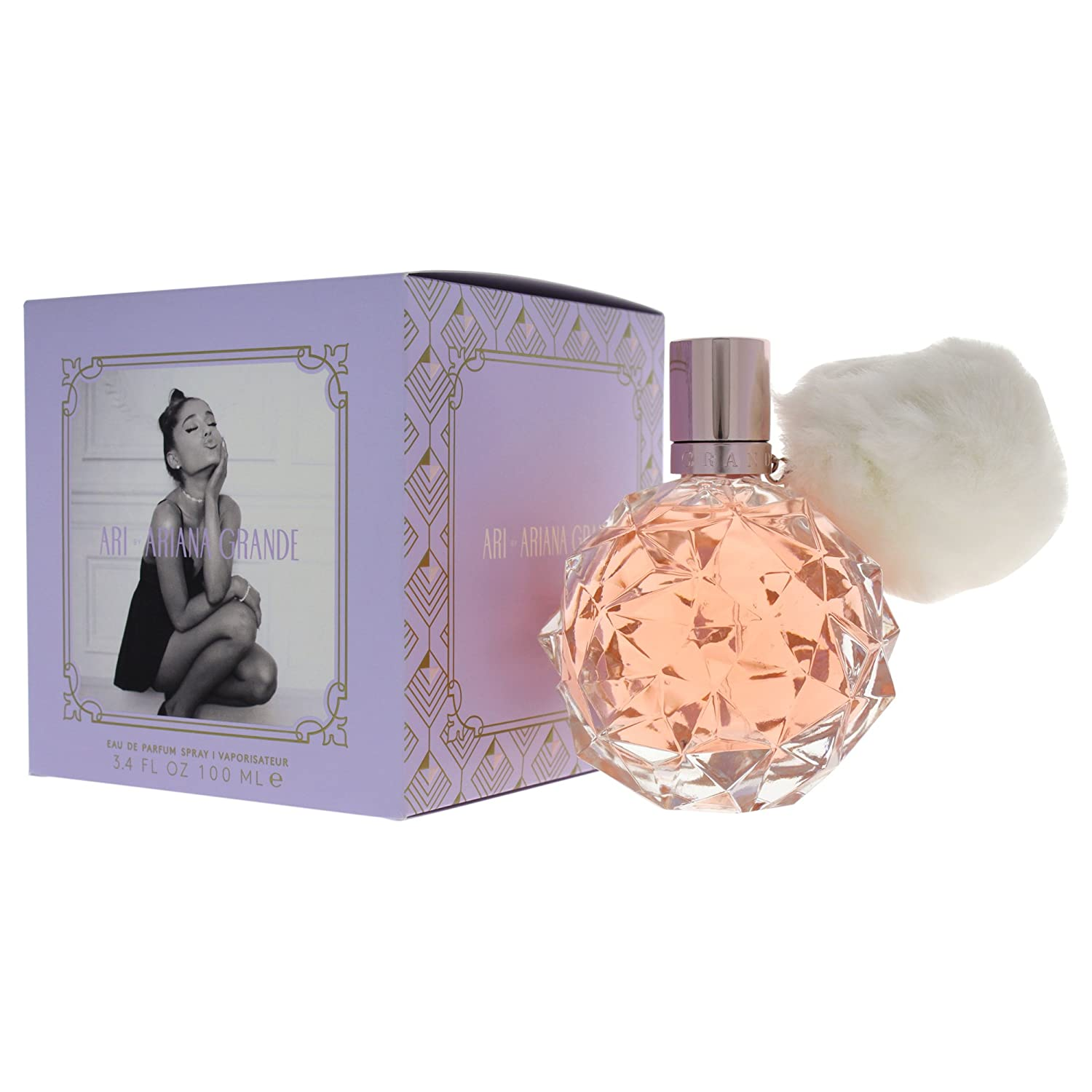 Ariana Grande Ari Eau De Parfum Spray 100 Ml Amazoncouk Beauty