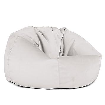 Lounge Pug®, Pouf Poire Classique, Velours Argent: Amazon.fr ...