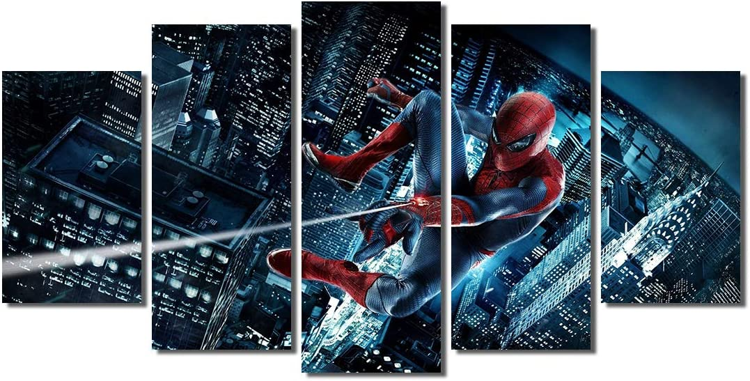 """the Amazing Spider Man 2HD Canvas Prints Home Decor Picture Wall Art 16/""""x30/"""""""
