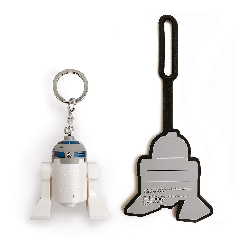 LEGO Star Wars R2-D2 Minifigure Key Light & Luggage Tag Duo