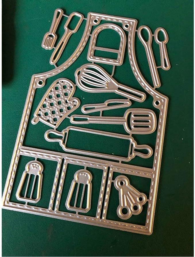 4.1x5.6inch Kitchen Apron 2019 New Die Cuts Metal Cutting Die Craft Die for Scrapbooking Card Making