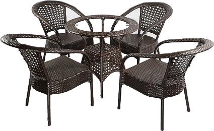 Shri Sai Outdoor Furniture Rattan Set