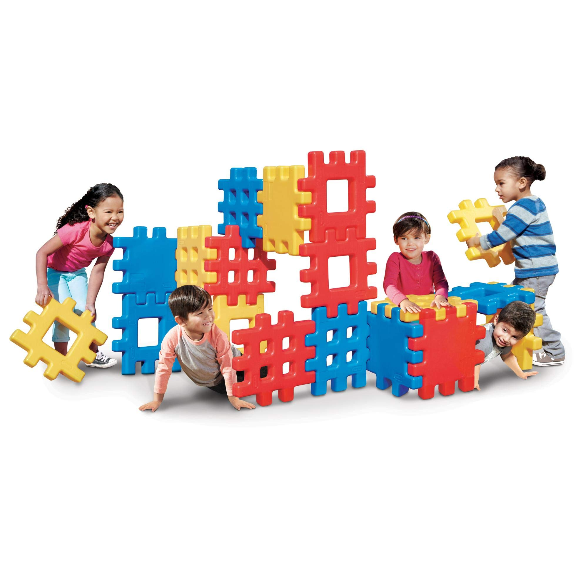 Little Tikes Big Waffle Block Set - 18 pieces