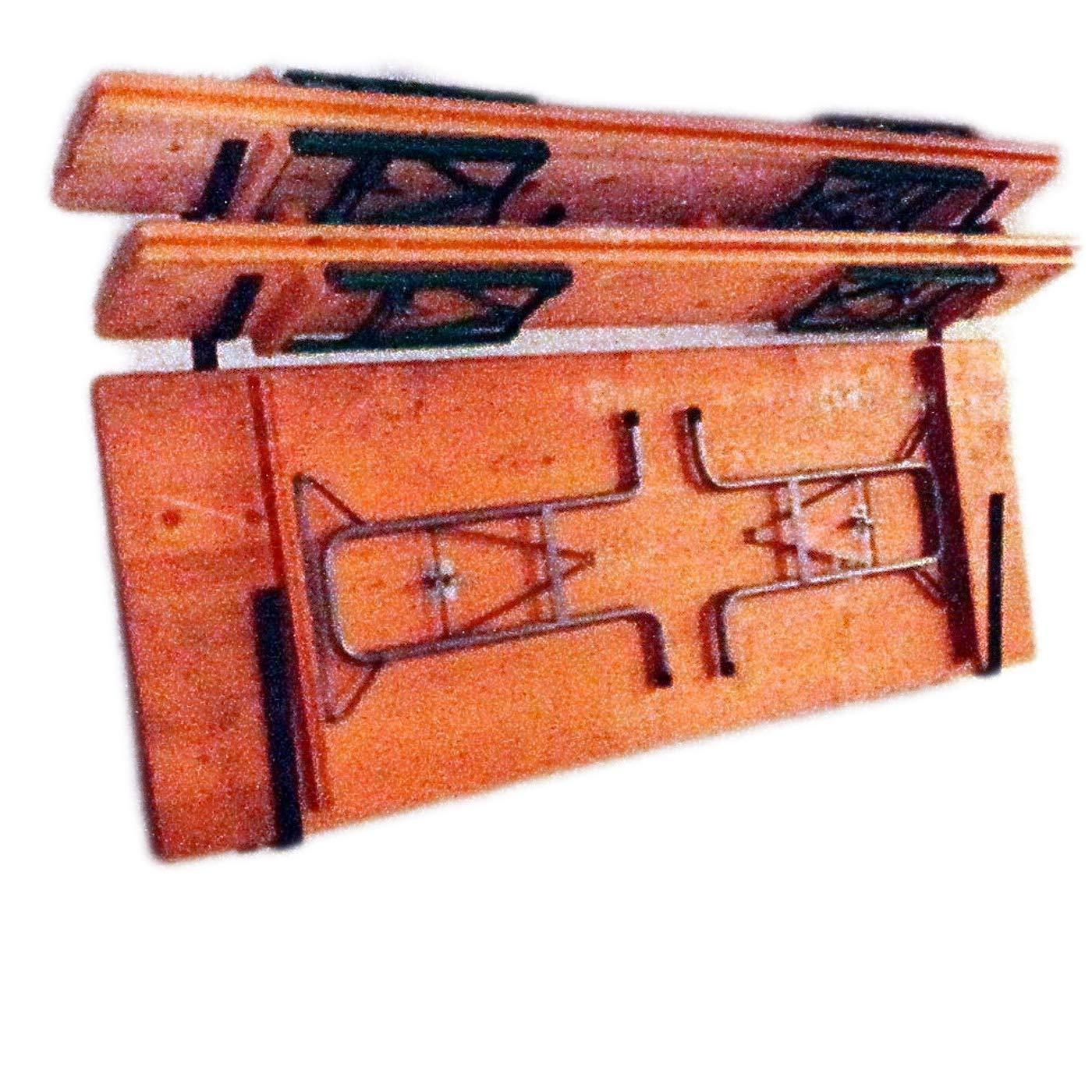 Wand Halterung Aufhängung aus Metall für 2 Bierzelt Garnituren Tische Bänke Halter