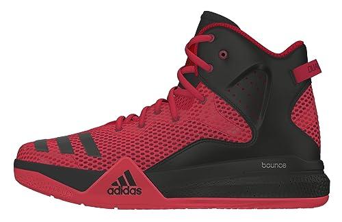 Adidas DT Basketball, Zapatillas de Baloncesto para Niños, Rojo (Escarl/Ftwbla/