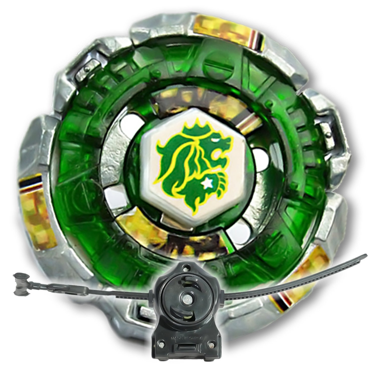 beyblade rock leone counter attack w ll2 launcher and