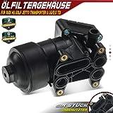 Conjunto del filtro de aceite/Enfriador 03L115389B, 03L115389C: Amazon.es: Coche y moto