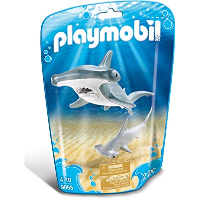 PLAYMOBIL Hammerhead Shark with Baby Building Set: Toys & Games