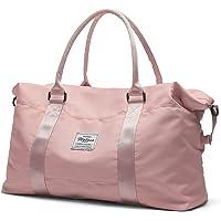 Travel Duffel Bag, Sports Tote Gym Bag, Shoulder Weekender Overnight Bag for Women