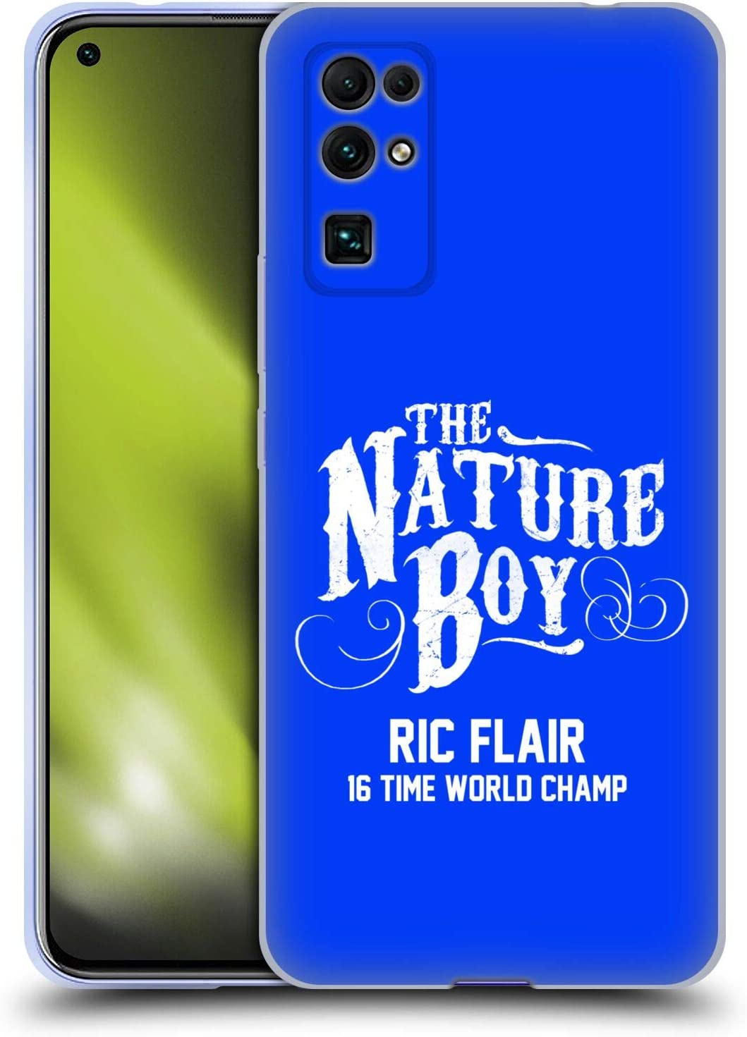 Head Case Designs Officially Licensed WWE The Nature Boy RIC Flair Soft Gel Case Compatible with Huawei Honor 30