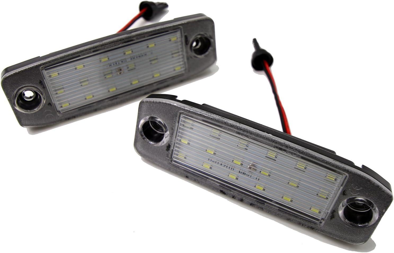 Amazon Com 2 X Sundely 18 Smd Led License Plate Light For Hyundai Sonata I45 2011 2012 2013 2014 2015 Car Electronics