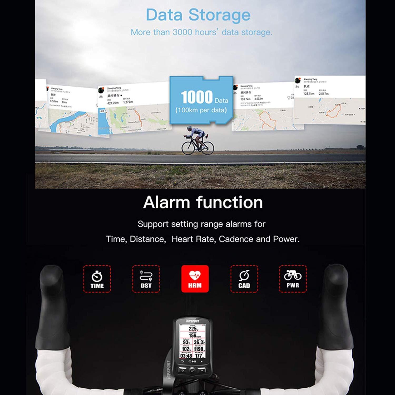 Amazon.com: iGPSPORT IGS618 - Ordenador de ciclismo GPS ...