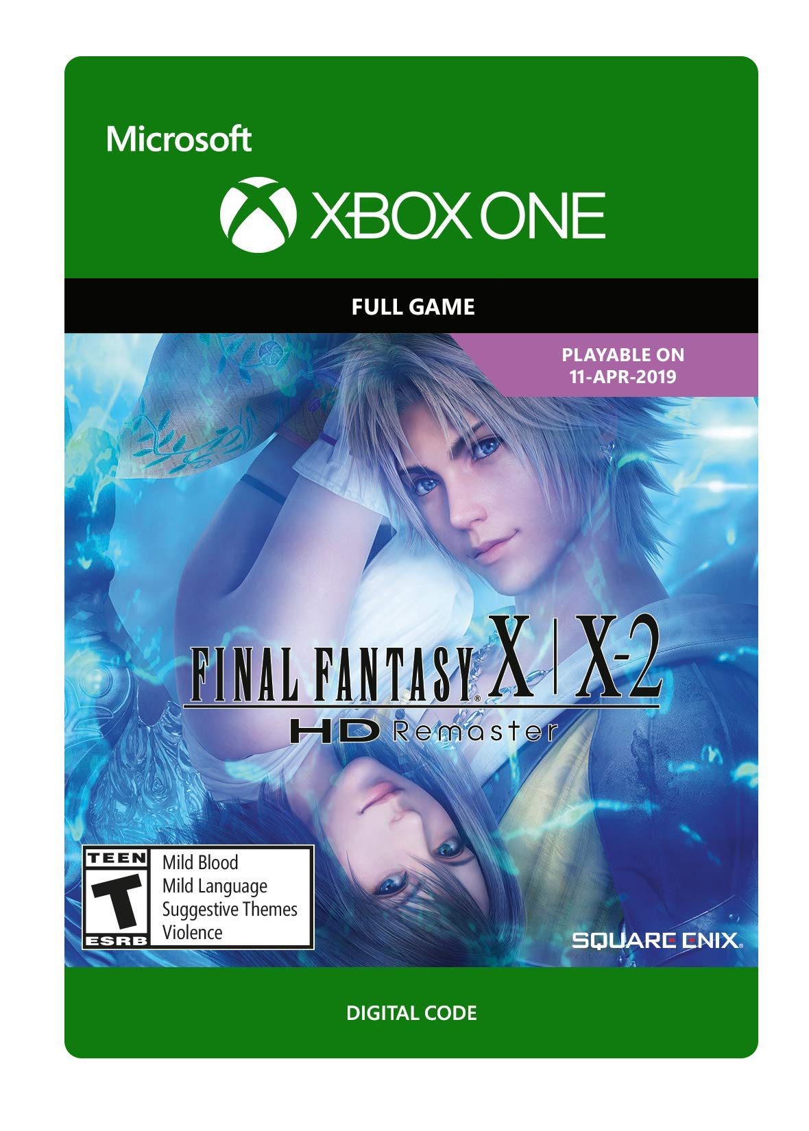 FINAL FANTASY X/X2 HD Remaster (Pre-Purchase / Launch Day) - Xbox One [Digital Code]