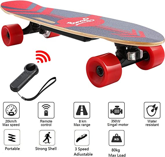 Nesaila 28inch Electric Skateboard 20 KM/H Top Speed