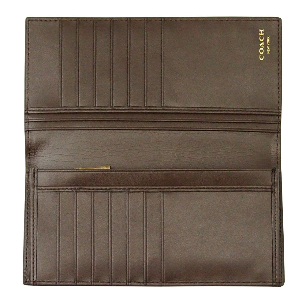 a29e4b9cefa2 Amazon   [COACH(コーチ)] シグネチャー 長財布 F74599 ブラウン   財布