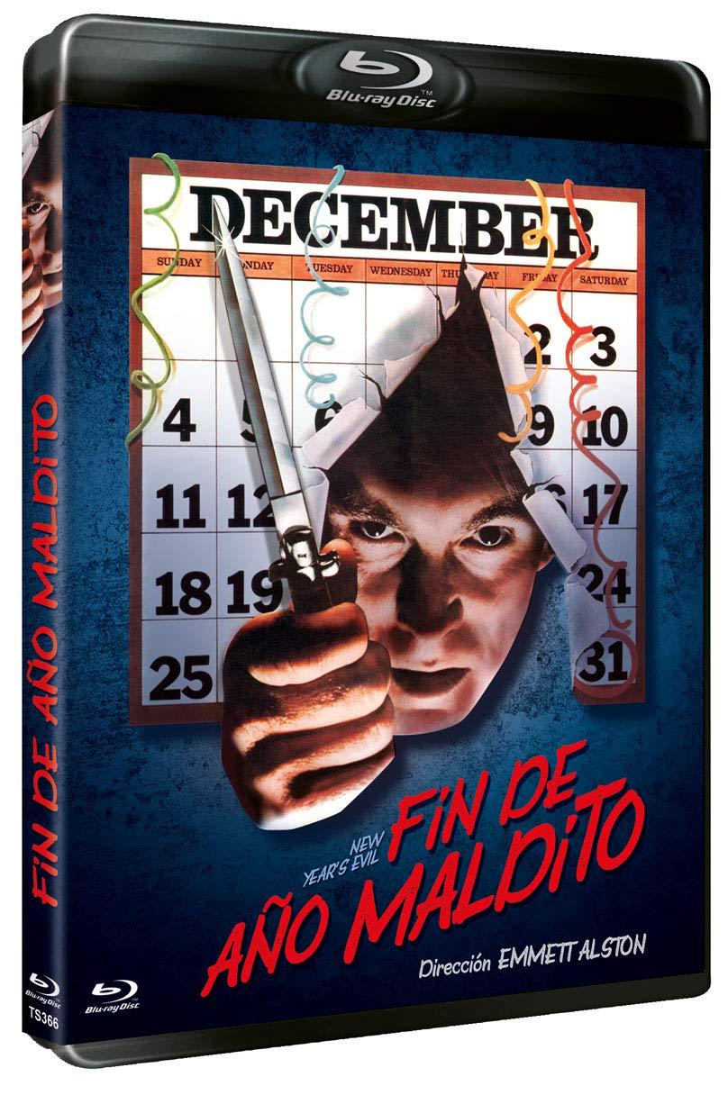 Fin de Año Maldito BD 1980 New Years Evil [Blu-ray]: Amazon.es: Roz Kelly, Kip Niven, Chris Wallace, Grant Cramer, Louisa Moritz, Jed Mills, Taaffe OConnell, Jon Greene, Teri Copley, Anita Crane, Emmett