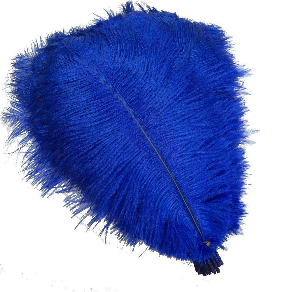 25-30cm MELADY Pack of 50pcs Natural Ostrich Feathers Centerpieces 10-12inch White for Home Wedding Party Decoration