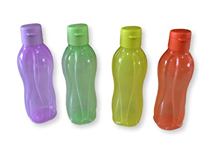 Tupperware Aquasafe Botella con tapa abatible, 500 ml, juego ...