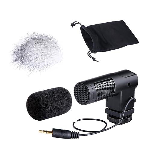 8 opinioni per BOYA BY-V01 Mini Stereo Microfono a condensatore per videocamera portatile DSLR