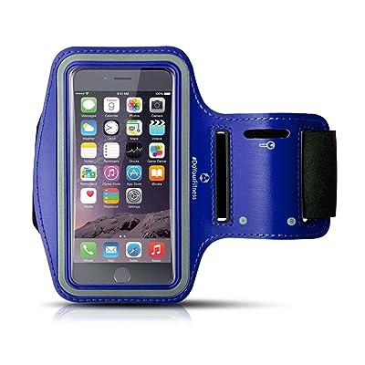 Bracelet de sport »RunnerGirl« & »RunnerMan« de #DoYourFitness / idéal pour portables de dimensions LARGE (GRAND) comprise entre 146 x 74 x 7 mm et 155 x 8 x 10 mm / Bracelet de jogging et d
