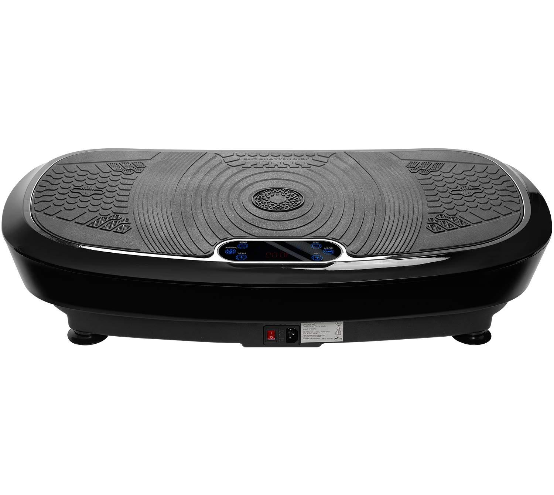 Bluetooth Musik Trainingsb/änder 2 Kraftvolle Motoren Merax Profi Vibrationsplatte 3D Wipp Vibration Technologie Fernbedienung Riesige Fl/äche einmaliges Design