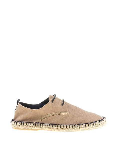 Castellanísimos Blucher Yute, Alpargatas para Hombre, Beige, 42 EU: Amazon.es: Zapatos y complementos