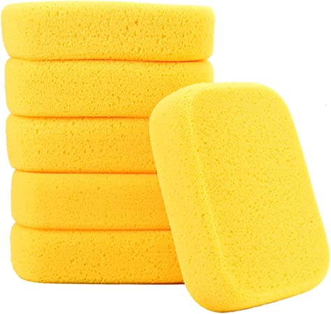 Clay Yesland 10 Pack Sponges Perfect Synthetic Sponges for Painting Grout 7.5 x 5.5 x 2 Inches Crafts Cleaning Pottery