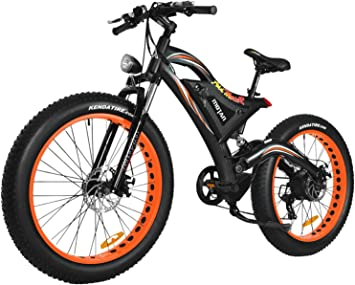 Addmotor MOTAN Electric Bicycle 750W 48V 11.6AH Battery For Snow ...