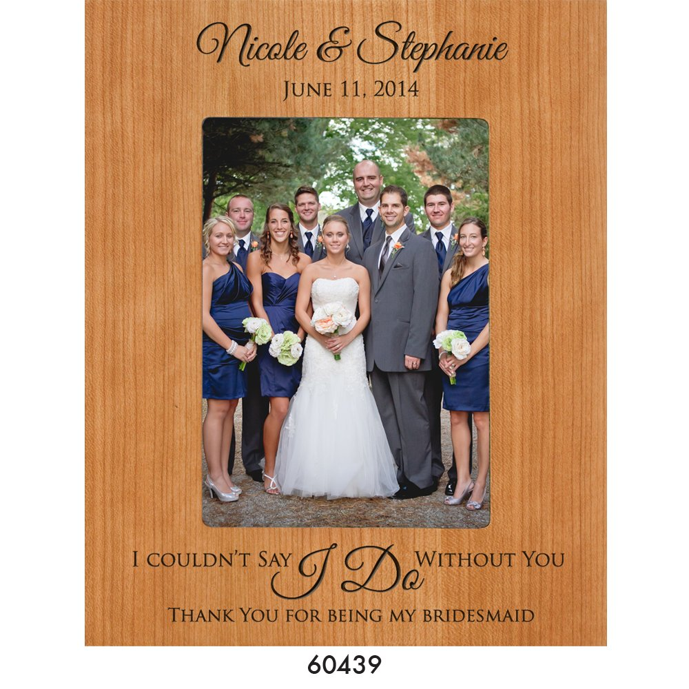 Brautjungfer Bilderrahmen Hochzeit Foto Personalisierte Hochzeit ...