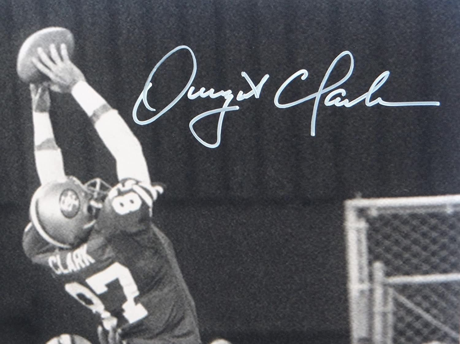 Dwight Clark Everson Walls Autographed 16x20 BW The Catch Photo- JSA W Auth  at Amazon's Sports Collectibles Store