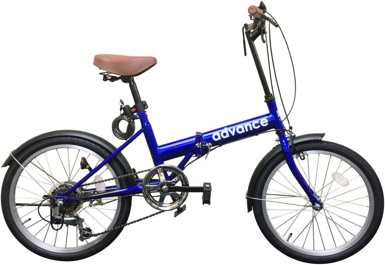 advance 折りたたみ自転車 20インチ