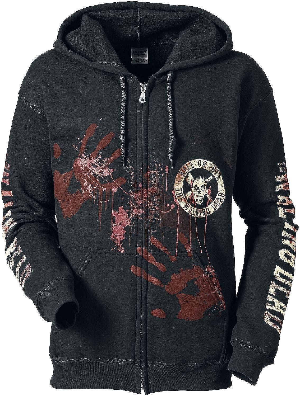 The Walking Dead Kill Or Die Hooded zip black