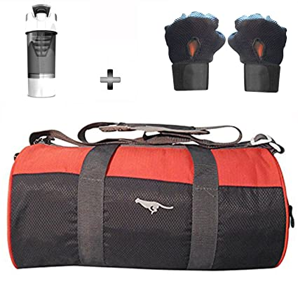 79e60d478d8f 5 O  CLOCK SPORTS Gym Bag Combo Set Enclosed With Polyster Gym Bag With  Shoe Compartment For Men For Men and Women For Fitness - Bag Size 49cm x  24cm x 24cm ...