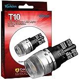 194 LED Light Bulb, Yorkim T10 Wedge High Power 1W White LED Light Bulbs, 194 Bulb 168 led bulb, 194 led ,2825 led bulb(Pack of 10)
