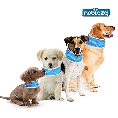 Nobleza 028726 - Collar refrigerante para mascotas 55* 7cm Azul ...