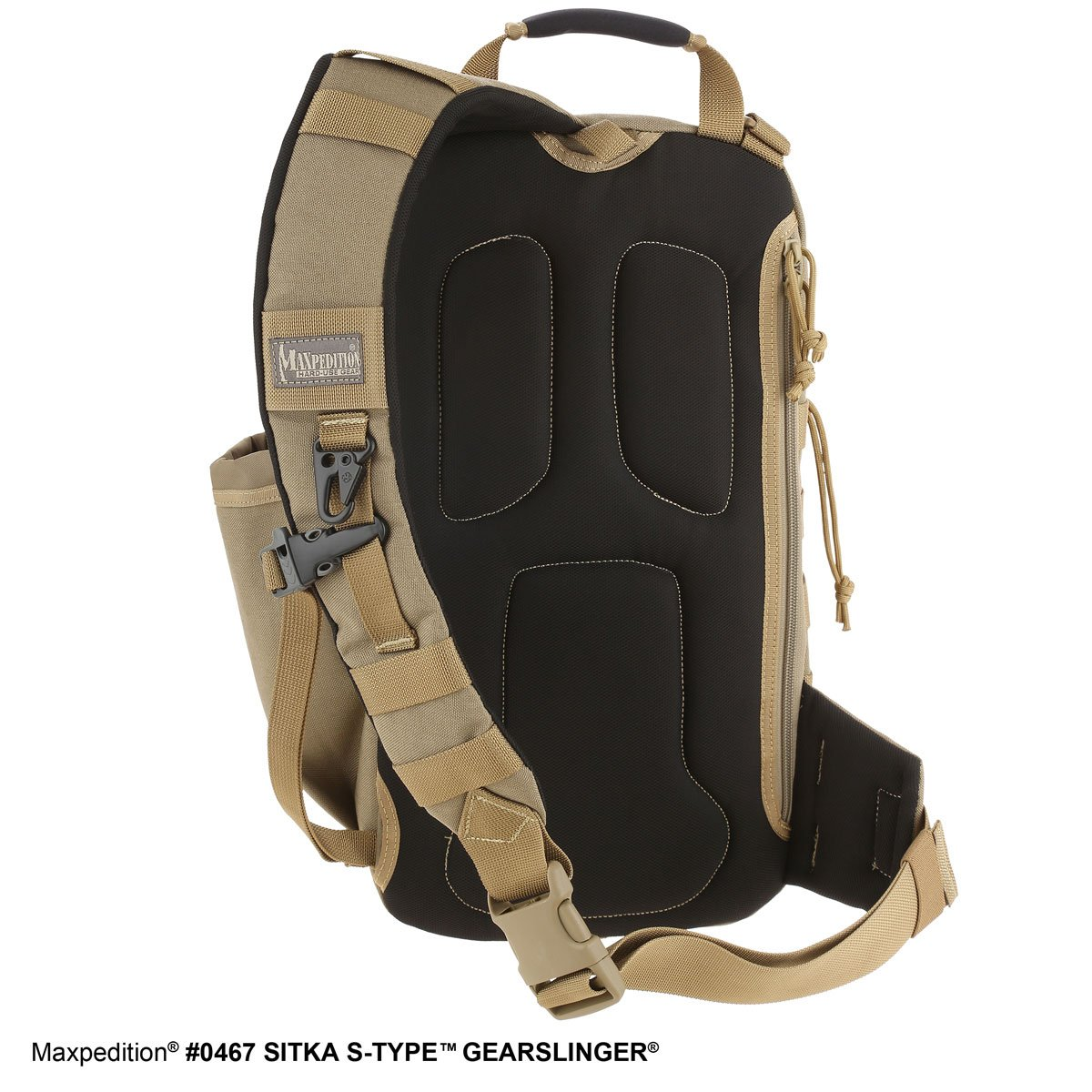 Maxpedition Sitka S-type (khaki) - Mochila de senderismo, color caqui, talla 46 in: Amazon.es: Deportes y aire libre