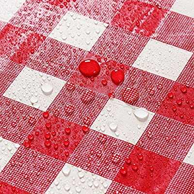 10 Pairs Plastic Disposable Gloves DFGWENDF 54 x 72 Red and White Checkered Tablecloths Tablecovers Table Cloth Cover Party Catering Events Tableware Disposable Tablecloths Pack of 4 Picnic Table Covers