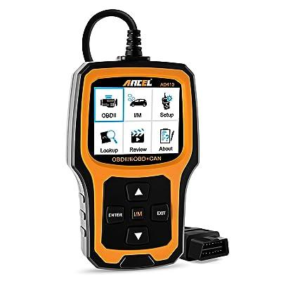 ANCEL AD410 Enhanced OBD II Vehicle Code Reader Automotive OBD2 Scanner Auto Check Engine Light Scan Tool: Automotive