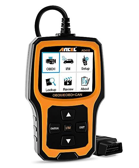 Vehicle Code Reader >> Ancel Ad410 Enhanced Obd Ii Vehicle Code Reader Automotive Obd2 Scanner Auto Check Engine Light Scan Tool